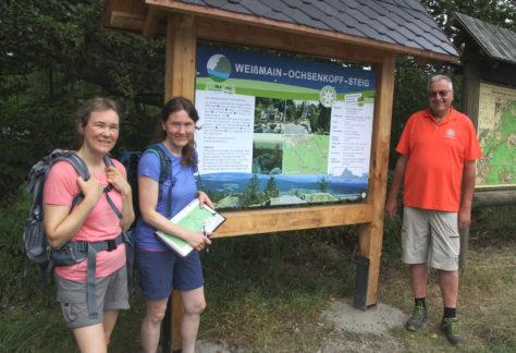 Weißmain-Ochsenkopf-Steig als Traumtour zertifiziert